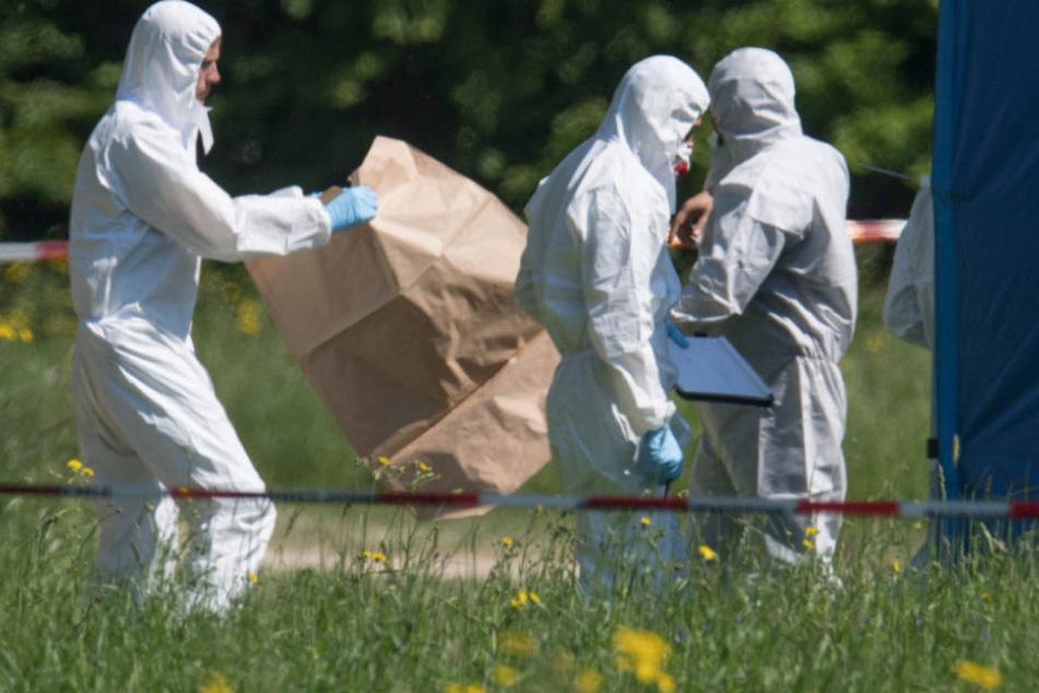 Ein Spaziergänger fand die Leiche im Niddapark.