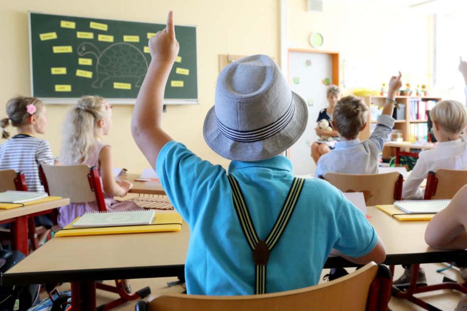 Die Partei wollte, das Schüler ihren Finger erheben, wenn sich Lehrer nicht neutral über die AfD äußern würden. (Symbolfoto)