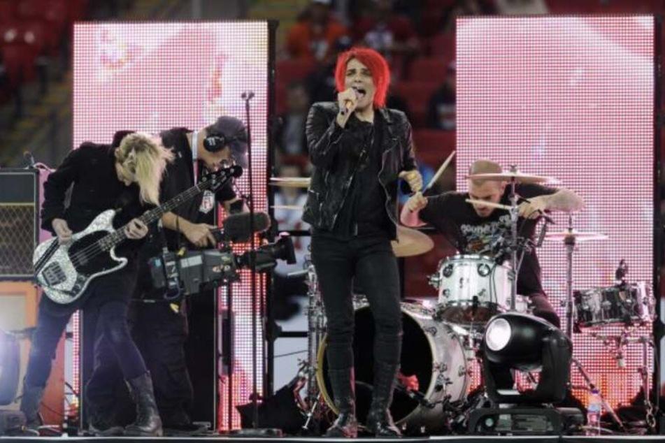 Sänger Gerard Way (42) will mit seiner Band zurück auf die Bühne.