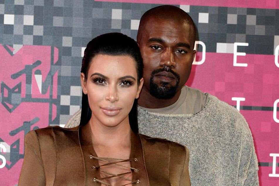 Mit privaten Feuerwehrleuten retteten Kim und Kanye die Nachbarschaft.