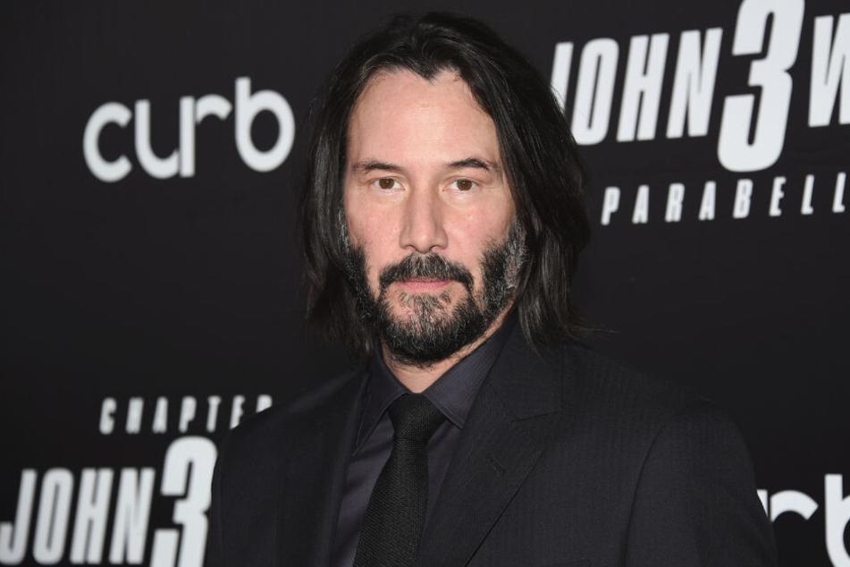 """Keanu Reeves (55) bei der Weltpremiere von """"John Wick: Kapitel 3""""."""