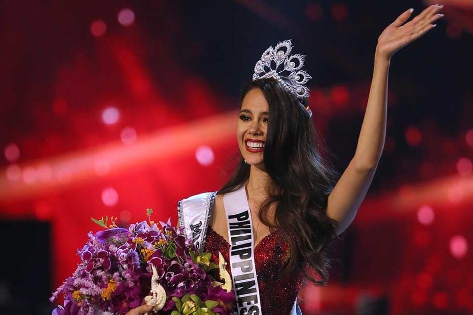 Die 24-jährige Catriona Gray ist zur neuen Titelträgerin gekrönt worden.