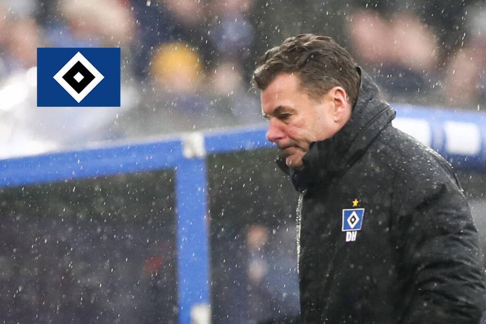 HSV-Trainer Hecking nimmt erneute Derby-Pleite auf seine Kappe