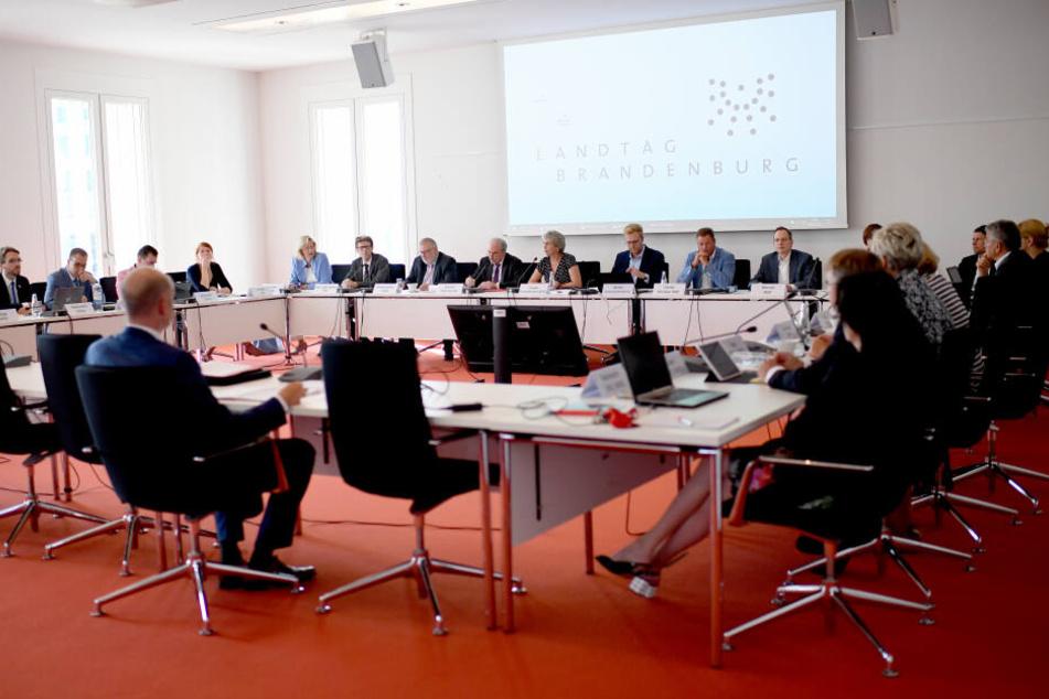 Am Montag kommt der BER-Sonderausschuss wieder in Potsdam zusammen.