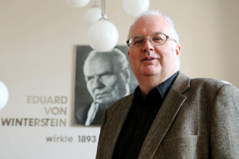 Intendant Ingolf Huhn freut sich über die Besucherzahlen.
