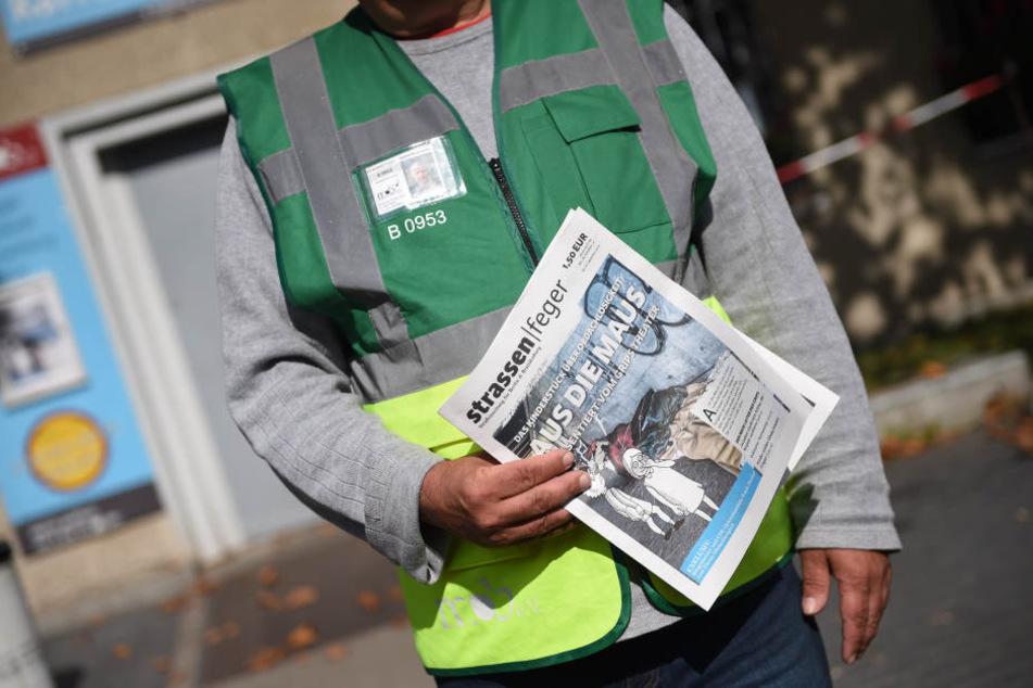 Ziel sei es auch, die Arbeit der rund 200 Zeitungsverkäufer zu sichern.
