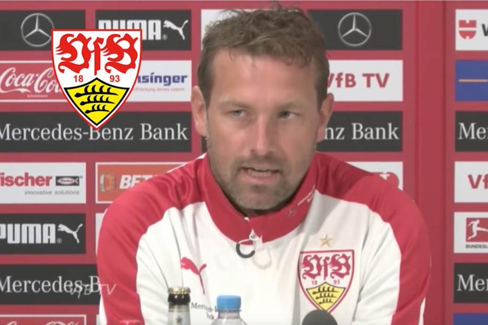 So will VfB-Coach Weinzierl den Tabellenführer stürzen!