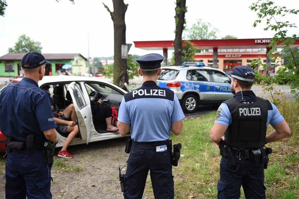 In Polen wurden die tschechischen Diebe von der deutschen Polizei gestoppt.