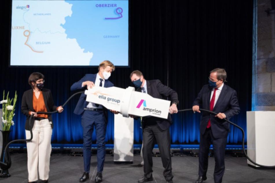90 Kilometer lang: Dickes Stromkabel verbindet Deutschland und Belgien
