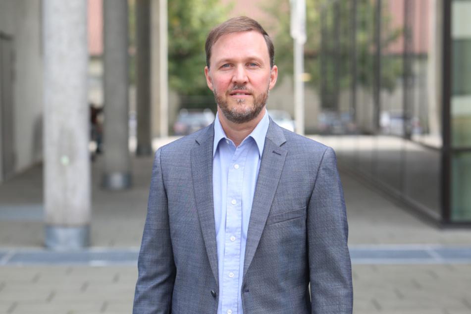 Forscht an einer wichtigen Stellschraube im Kampf gegen den Krebs: Studienleiter Mirko Theis (45) vom NCT/UCC und der Medizinischen Fakultät Dresden.