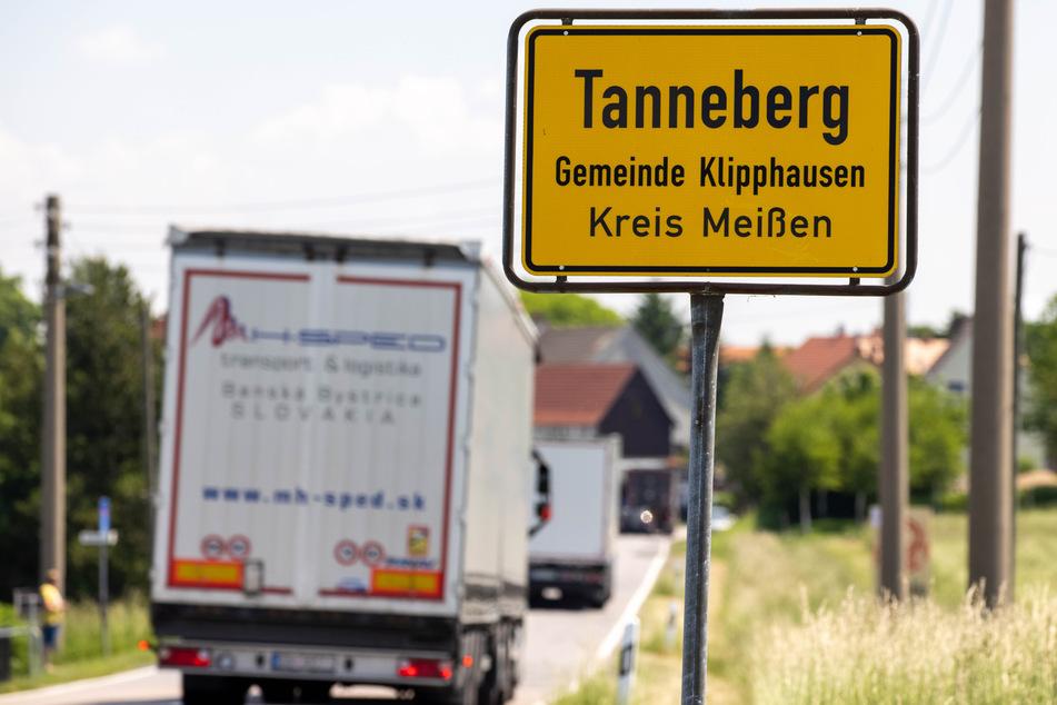 In Tanneberg ist es mancherorts kreuzgefährlich.