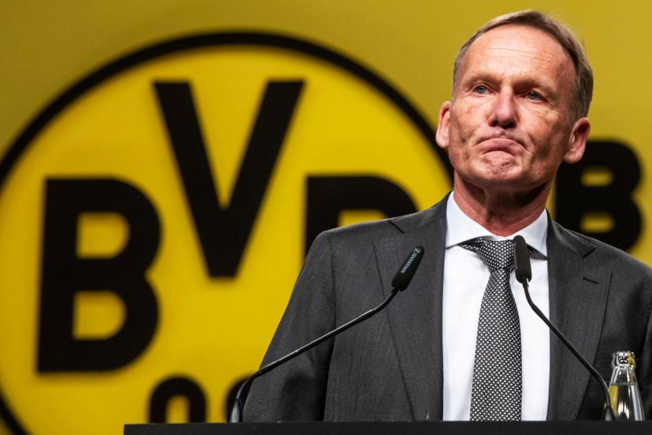 BVB-Boss Hans Joachim Watzke (60) bleibt trotz Corona-News aus Dresden gelassen.
