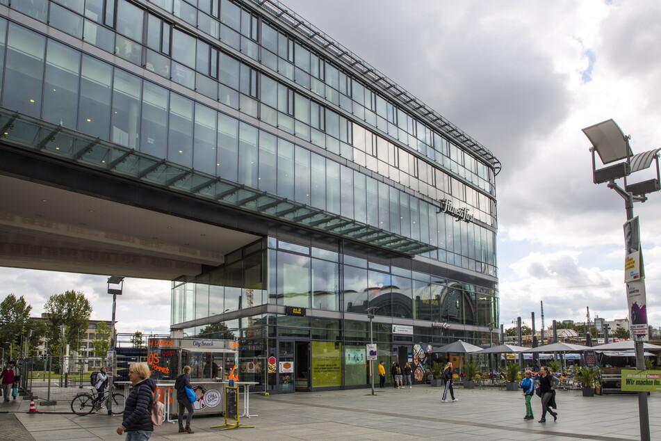 """Wie so viele Läden in Dresden: Auch die """"Prager Spitze"""" hat mit Leerstand zu kämpfen."""