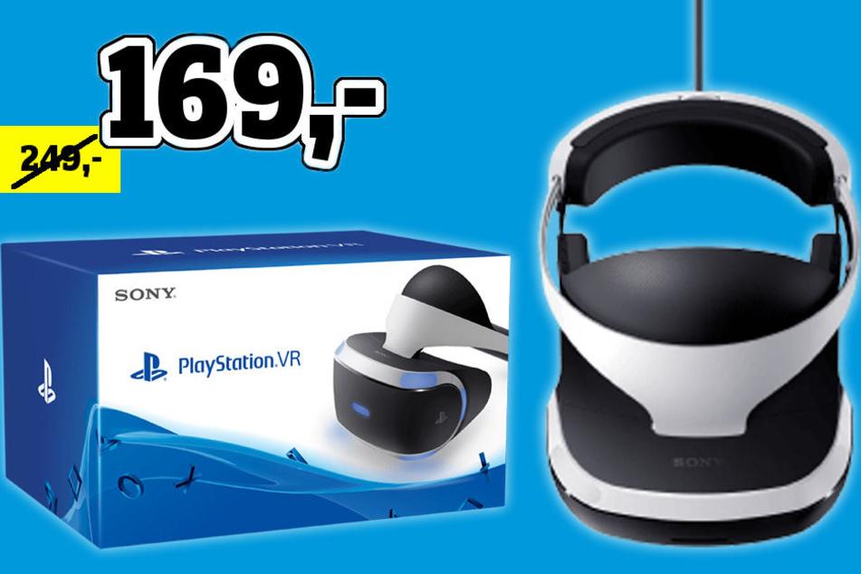 Nur bis 21. April bekommt Ihr die VR-Brille für die Playstation 80 Euro günstiger!
