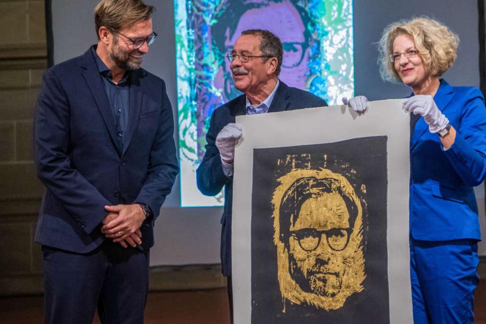 Für das Preisgeld von 4000 Euro erstellt ein renommierter Künstler die Druckgrafik von Klopp.