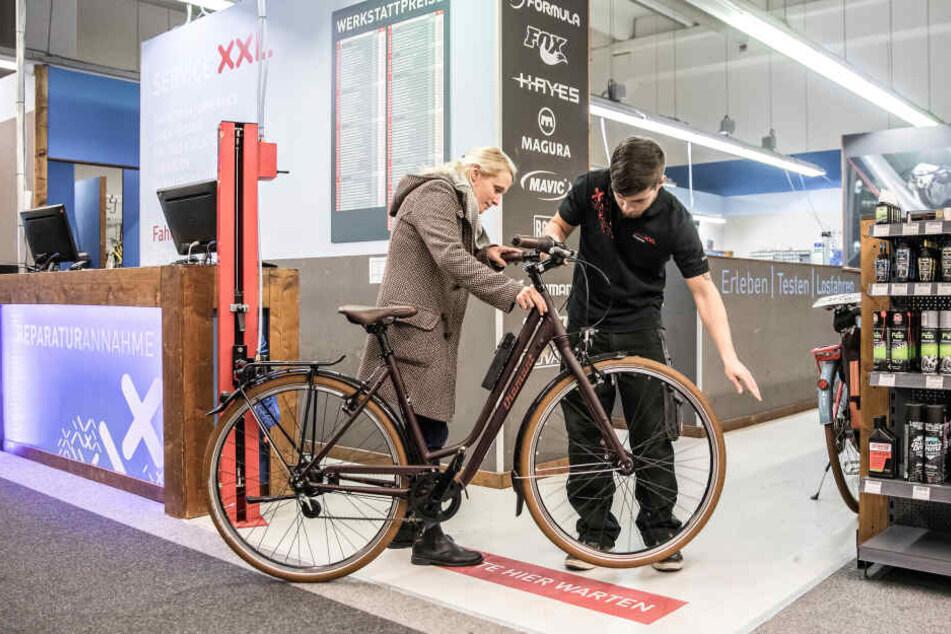 Bei Fahrrad XXL wartet jede Menge Abwechslung auf Dich!