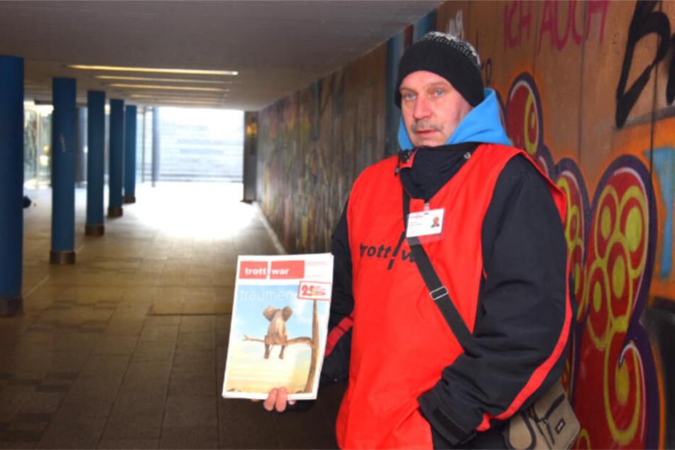 Thomas Schuler steht in der Unterführung in der Nähe des Stuttgarter Rathauses.
