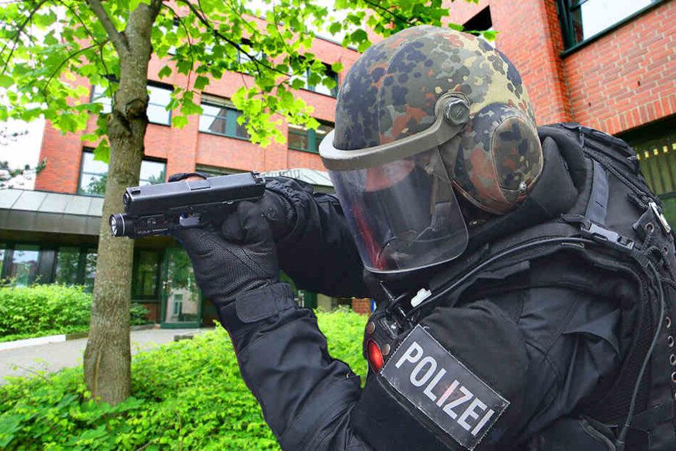 Der Verwirrte hat gedroht, die Herforder Polizeiwache in die Luft zu jagen.