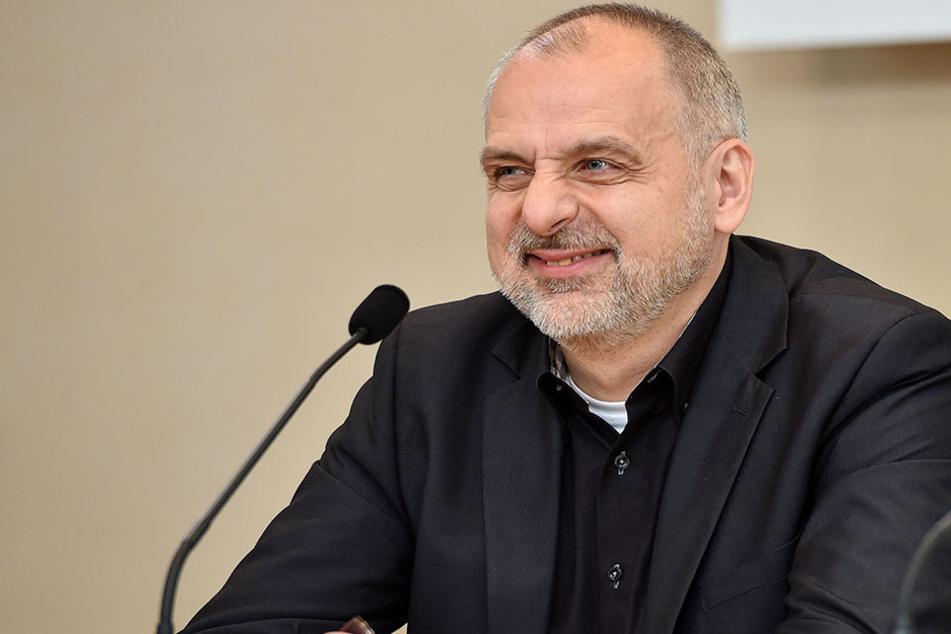 Linke-Fraktions-Chef Rico Gebhardt (53).