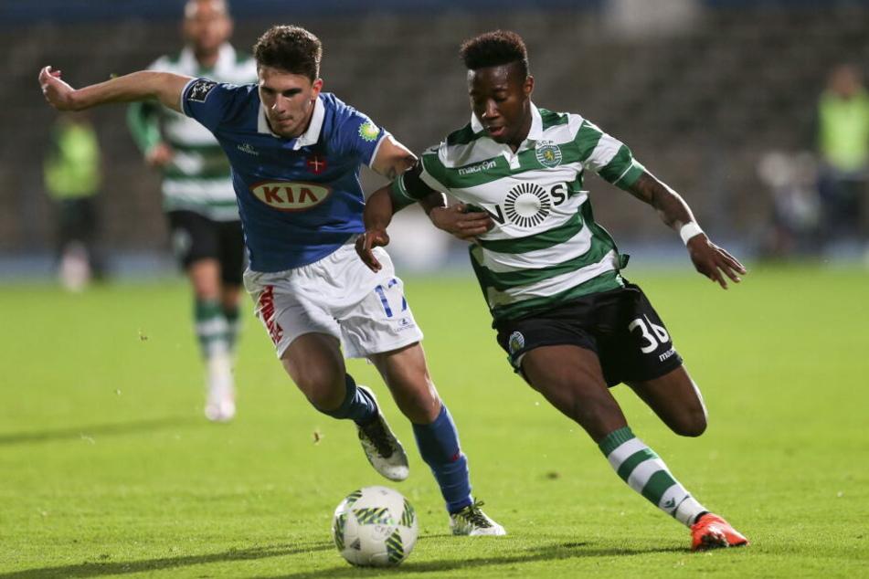 Carlos Mané spielt derzeit bei Sporting Lissabon keine große Rolle.