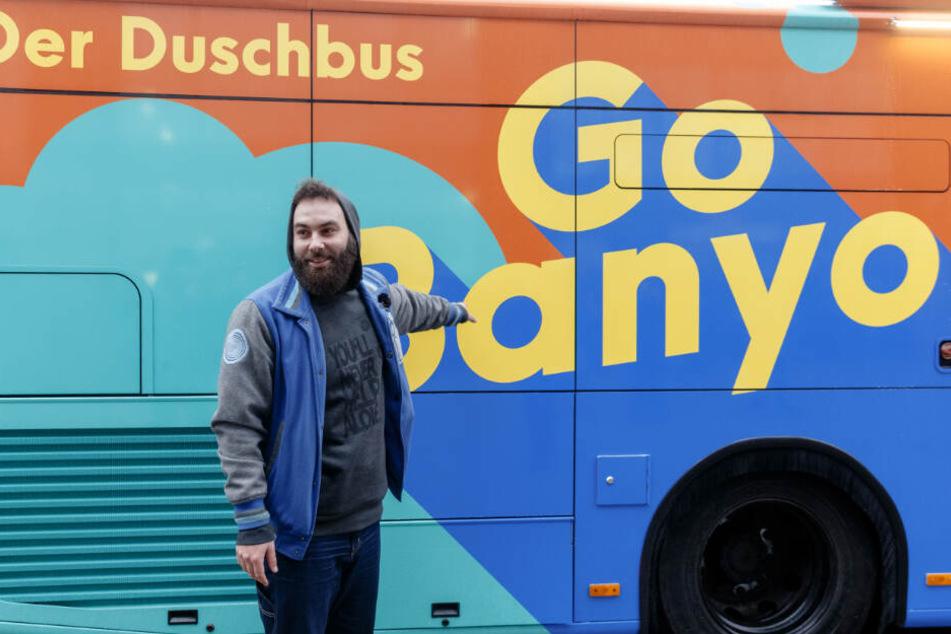 Dominik Bloh hat das GoBanyo-Projekt ins Leben gerufen.