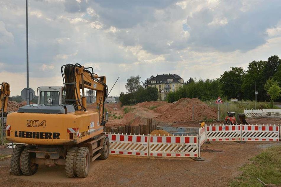 Wann die JVA in Zwickau fertig wird, ist völlig unklar.