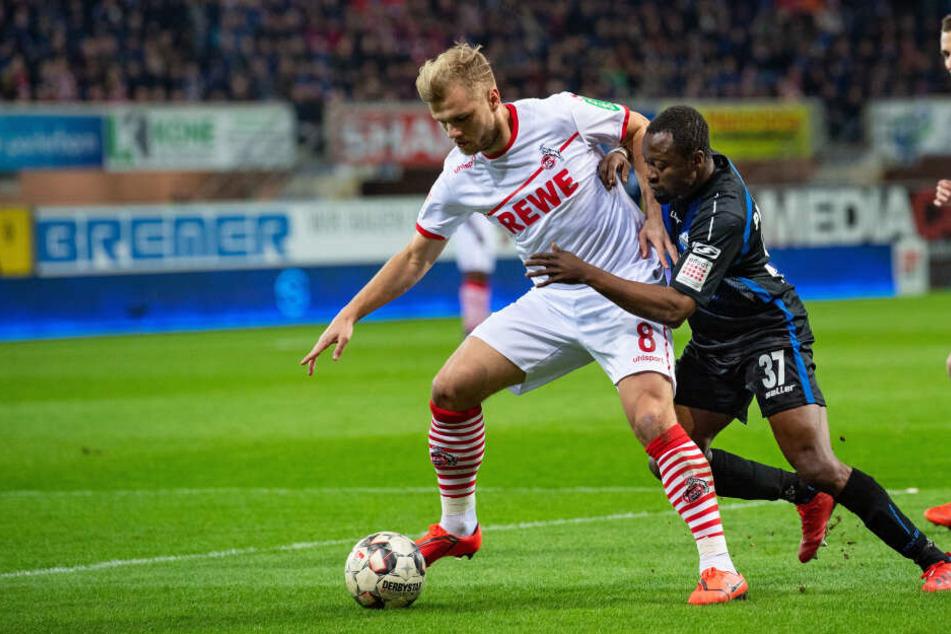 Der 1. FC Köln trifft am Donnerstag in einem Testspiel auf den SC Paderborn.