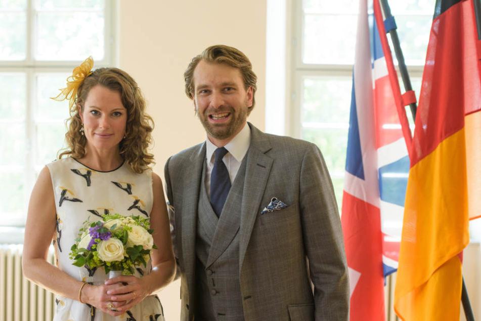 Prinz Georg-Constantin von Sachsen-Weimar-Eisenach und die Britin Olivia Rachelle Page heirateten am 29.08.2015 in Weimar (Thüringen).