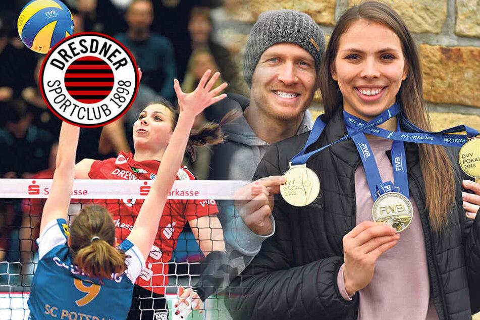 Sasa & Goran fühlen sich wohl beim Dresdner SC