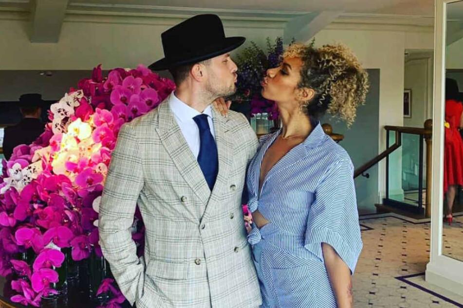"""Sie haben """"Ja"""" gesagt: Sängerin Leona Lewis heiratet ihren Background-Tänzer"""