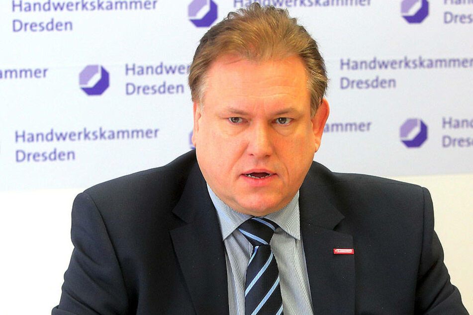 Andreas Brzezinski (47) von der Handwerkskammer
