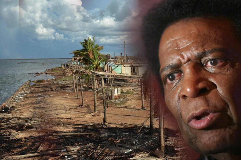 Seine Familie in Lebensgefahr! Hurrikan zerstört Roberto Blancos Haus
