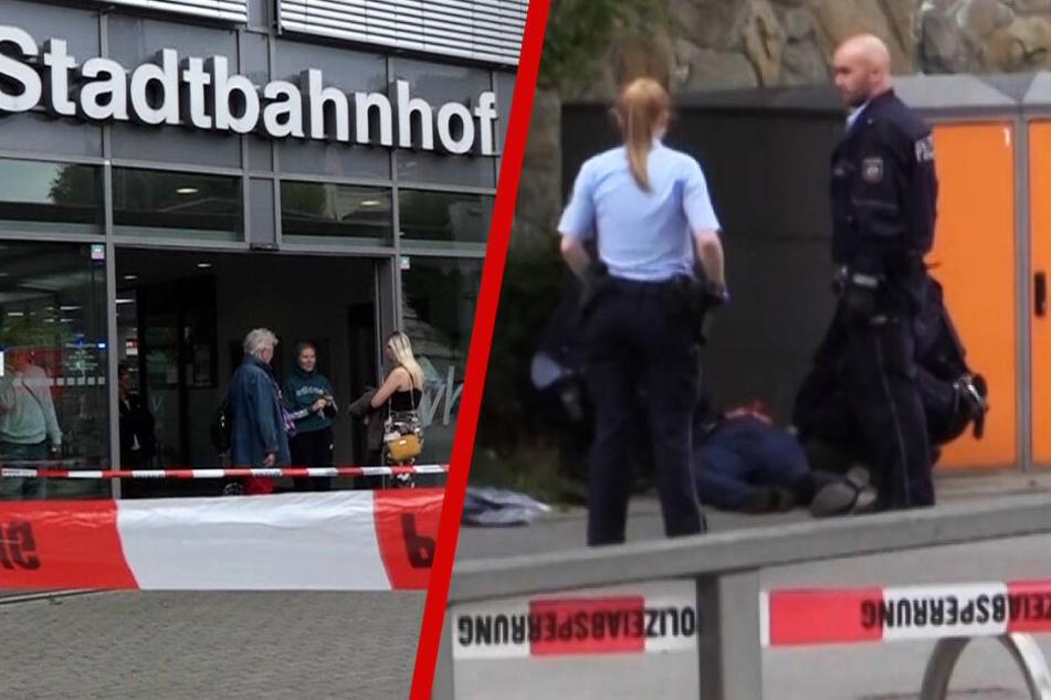 Bluttat im Bahnhof mit zwei Toten: Opfer (†32) hatte ihr Baby bei sich