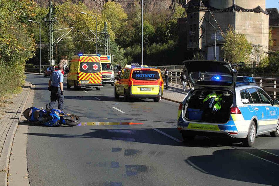 Einer der Biker wurde schwer verletzt.