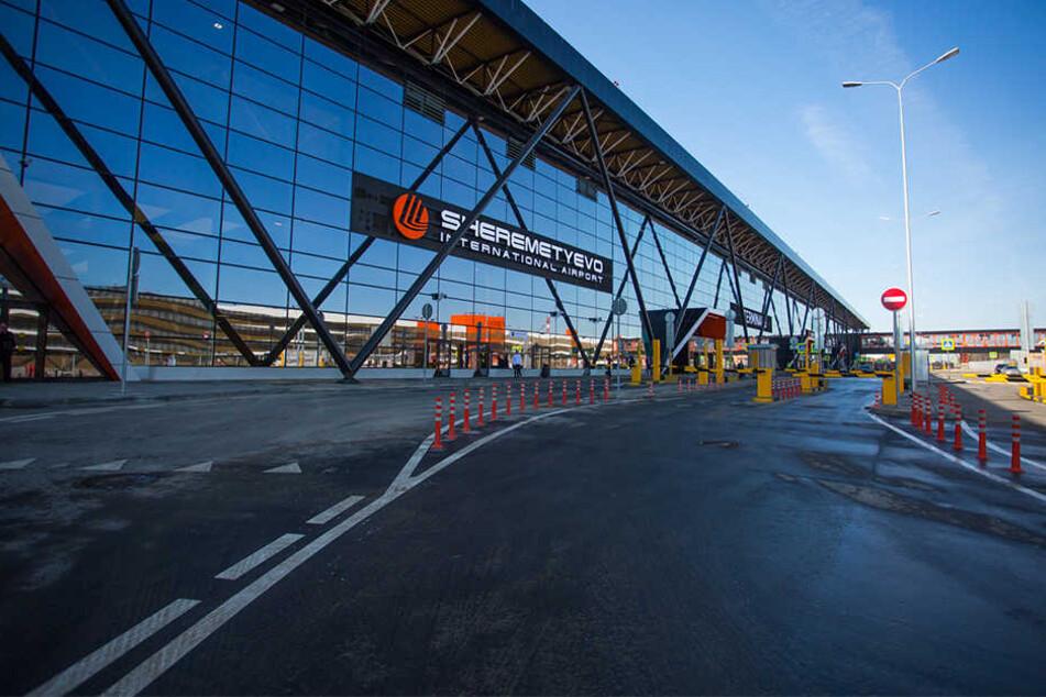 Flughafenmitarbeiter in Scheremetjewo entdeckten den Toten erst später.