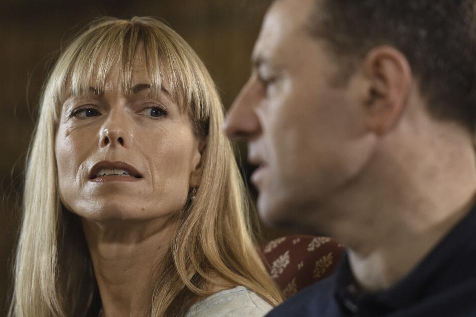 Kate und Gerald McCann bei einem Interview mit der britischen BBC.