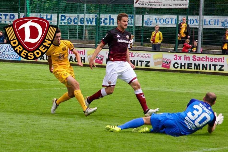 Dynamo vergeigt Elfmeterschießen gegen Auerbach