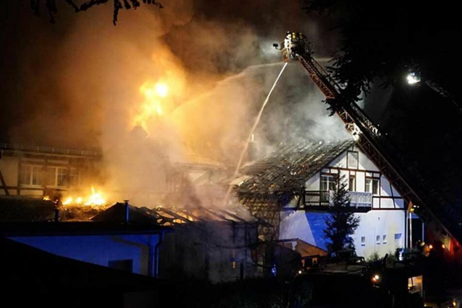 Feuer im Hotel: Beliebtes Berliner Ausflugslokal abgebrannt