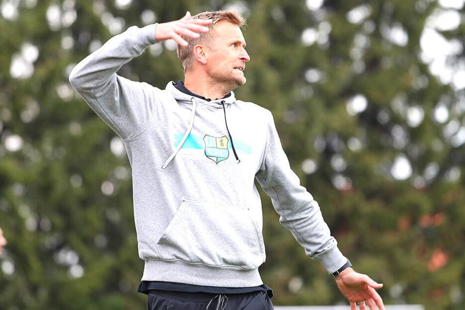 Trainer David Bergner hat den CFC zum Aufstieg geführt.