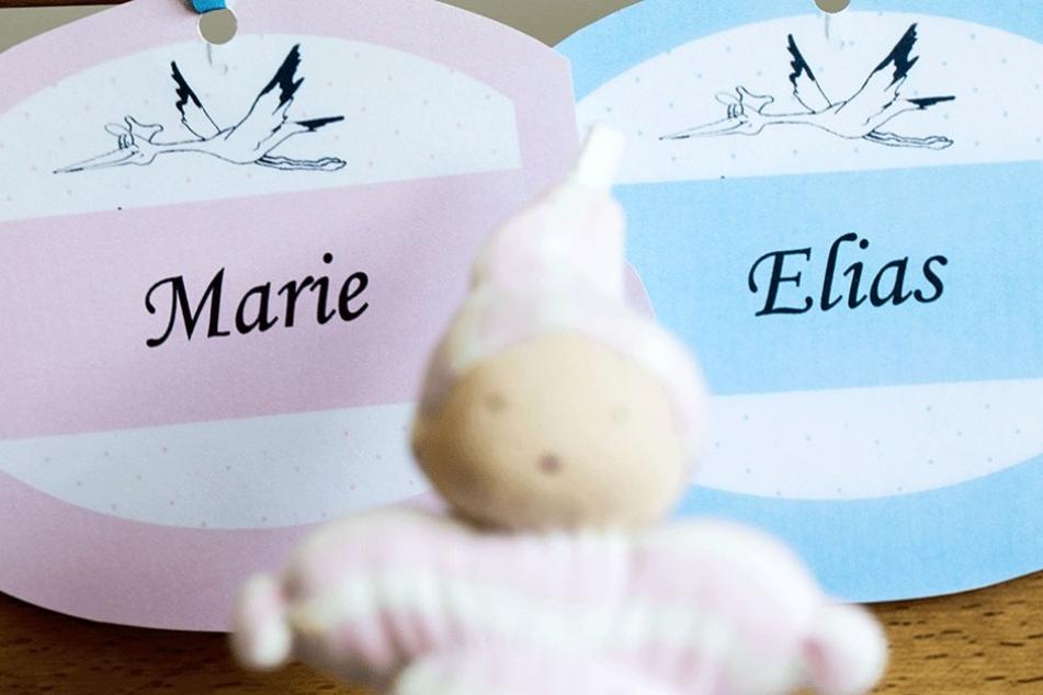 Elias und Marie sind deutschlandweit die beliebtesten Vornamen.