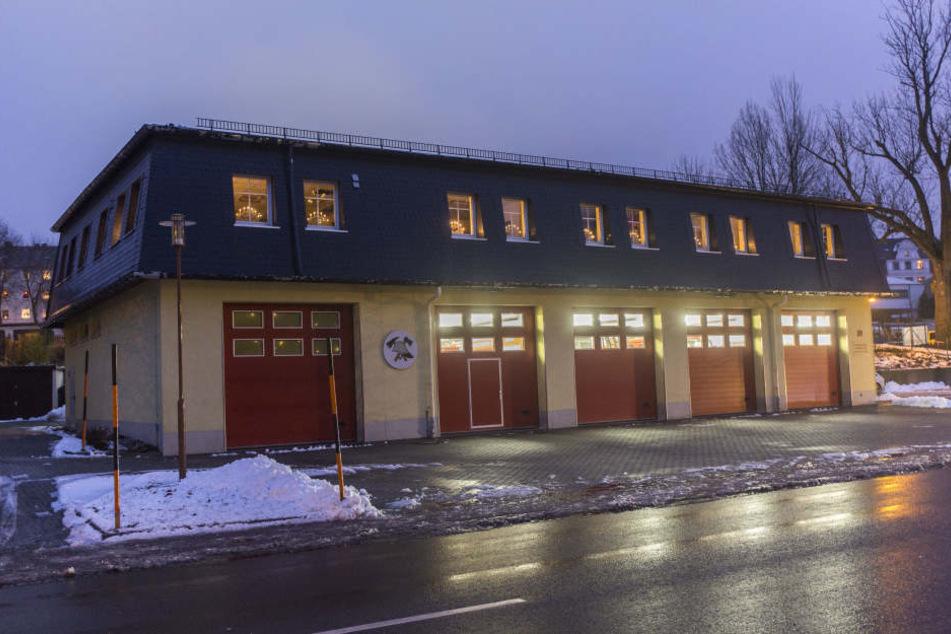 Diebe suchten das Feuerwehrdepot in Annaberg heim.