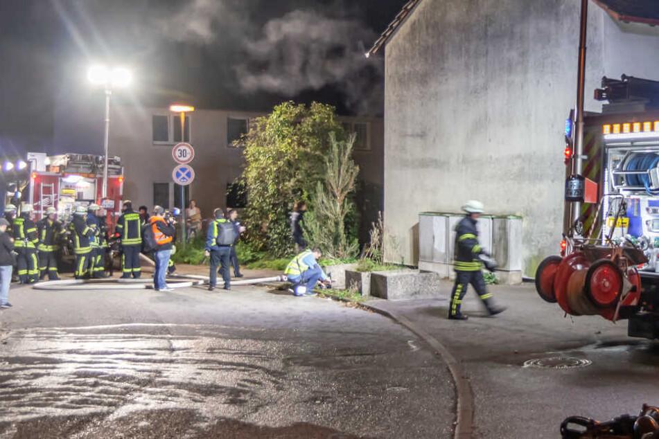 Brand in Erdgeschoss-Wohnung fordert zwei Verletzte
