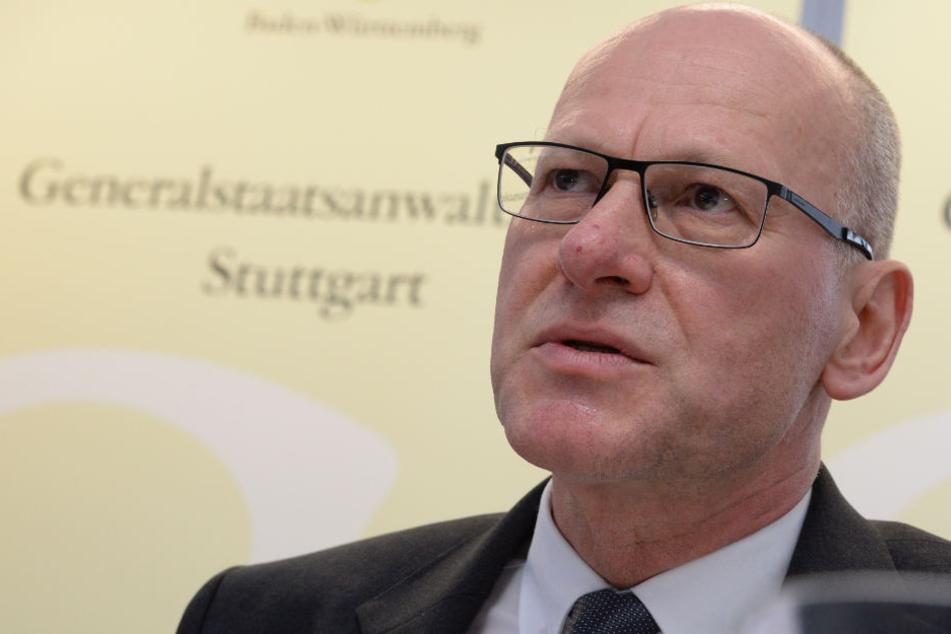 Der Stuttgarter Generalstaatsanwalt Achim Brauneisen.