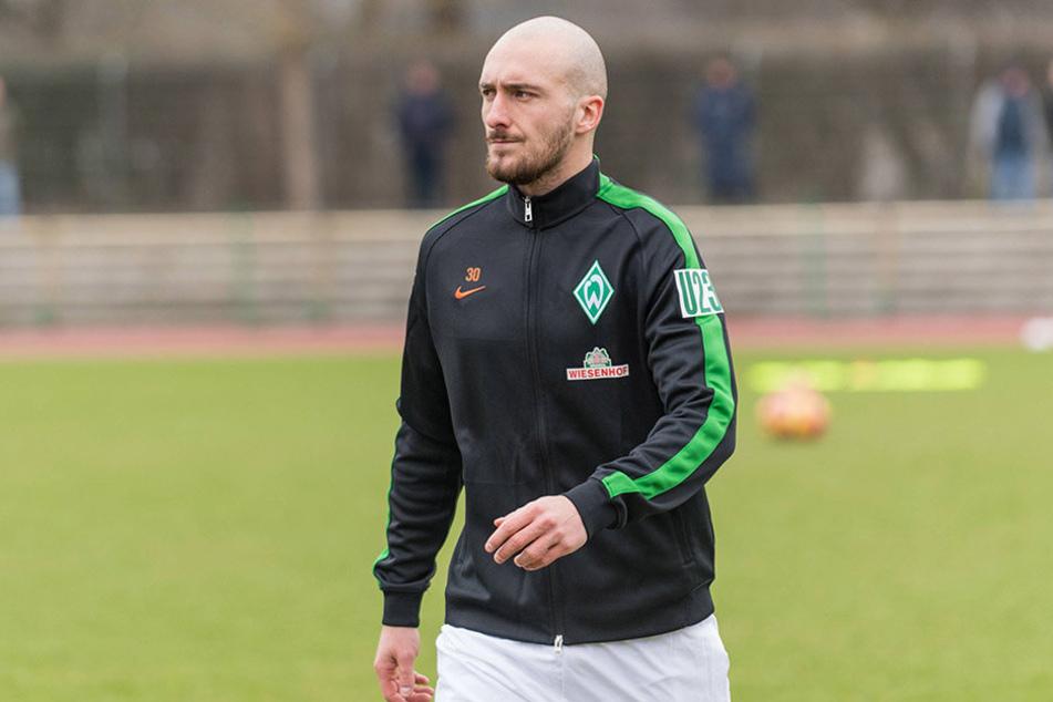 Werder Bremen II hatte sogar Verstärkung aus der Bundesliga: Luca Caldirola (Bild) und Justin Eilers spielten in der 3. Liga mit.