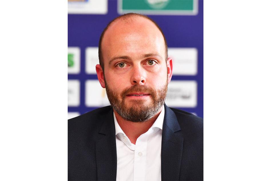 Eislöwen-Geschäftsführer Maik Walsdorf.