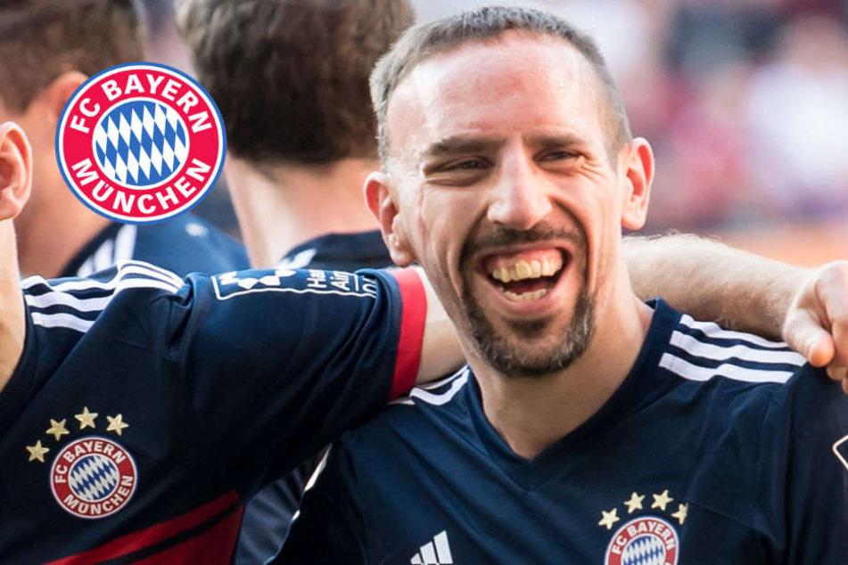 Noch ein Jahr! Ribéry verlängert bei den Bayern