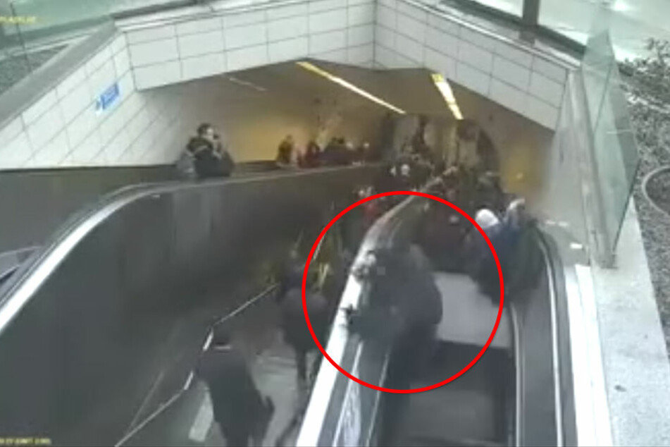 Horror-Unfall in Türkei: Kaputte Rolltreppe verschluckt Mann