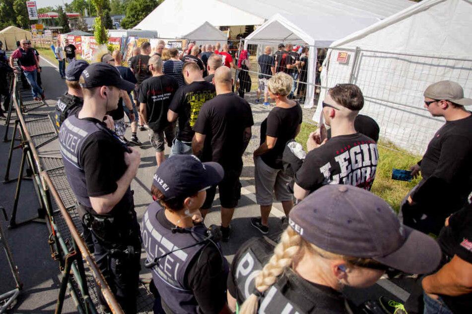 Alkohol wird es auf dem Festival für die Teilnehmer nur am Freitag geben - und auch dann nur Leichtbier.