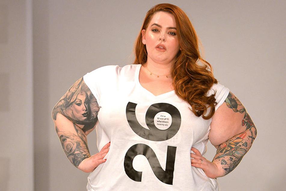 Übergrößenmodel Tess Holliday machte ihrem Ärger auf Twitter Luft.