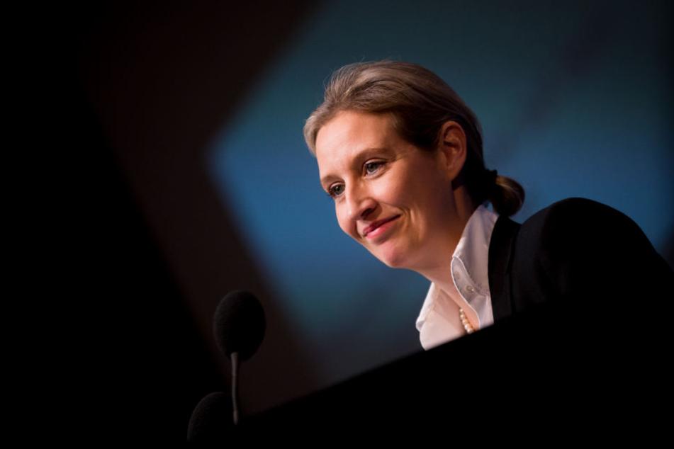Mittelpunkt der Spenden-Affäre: AfD-Politikerin Alice Weidel.